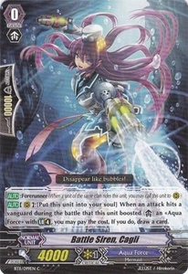 Cardfight Vanguard ENGLISH Seal Dragons Unleashed Single Card Common BT11/099 Battle Siren, Cagli