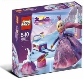LEGO Belville Fairytales Set #7580 Skating Princess Damaged Package, Mint Contents!!