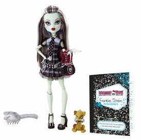 Monster High Deluxe Doll Frankie Stein with Pet Dog Watzit [Doll Stand & Diary]