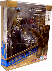 Power Rangers Samurai S.H. Figuarts Exclusive Action Figure Shinken Gold