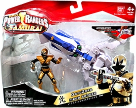 Power Rangers Samurai Vehicle & Action Figure OctoZord & Light Mega Ranger