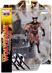 Marvel Select Action Figure Unmasked Wolverine