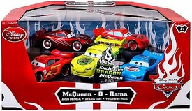 Disney / Pixar CARS Movie Exclusive 1:48 Die Cast Car 5-Pack McQueen-O-Rama [Piston Cup, Rusteze, World Grand Prix, Dinoco, Dragon]