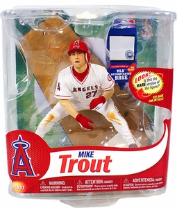 McFarlane Toys MLB Sports Picks Series 31 Action Figure Mike Trout (Los Angeles Angels) MLB Authenticated BaseCollector Level Only 200 Made!