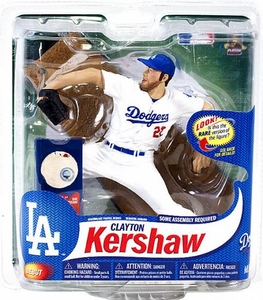 McFarlane Toys MLB Sports Picks Series 31 Action Figure Clayton Kershaw (Los Angeles Dodgers) Collector Level Damaged! Please Read Notes!