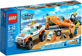 LEGO City Set #60012 4x4 & Diving Boat
