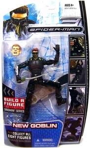 Marvel Legends Spider-Man Movie Action Figure New Goblin [Sandman Build A Figure Piece!]