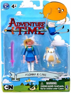 Adventure Time 3 Inch Figure 2-Pack Fionna with Cake
