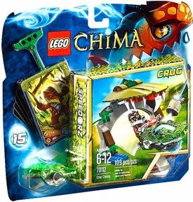 LEGO Legends of Chima Set #70112 Croc Chomp New!