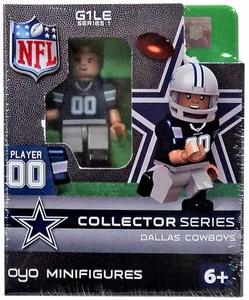 OYO Football NFL Building Brick Minifigure Dallas Cowboys Collector Series Figure