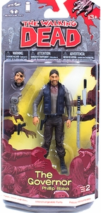 McFarlane Toys Walking Dead COMIC Series 2 Action Figure The Governor [Phillip Blake]