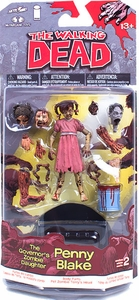 McFarlane Toys Walking Dead COMIC Series 2 Action Figure Penny Blake [Governor's Zombie Daughter]