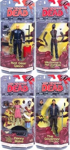 McFarlane Toys Walking Dead COMIC Series 2 Set of 4 Action Figures [Glenn, Governo, Penny Blake & Pet Zombie]