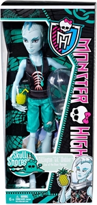 Monster High Skull Shores Basic Doll Gillington