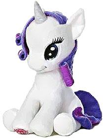 Aurora My Little Pony Friendship is Magic LARGE 10 Inch Plush Rarity [Sitting]