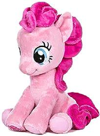 Aurora My Little Pony Friendship is Magic LARGE 10 Inch Plush Pinkie Pie [Sitting] New!