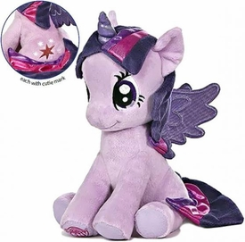 Aurora My Little Pony Friendship is Magic LARGE 10 Inch Plush Twilight Sparkle [Sitting] New!