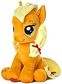 Aurora My Little Pony Friendship is Magic LARGE 10 Inch Plush Applejack [Sitting] New!