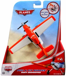 Disney PLANES Pull & Fly Buddies Dusty Crophopper