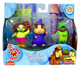 Nick Jr's Wonder Pets Figure Pack Save The Unicorn