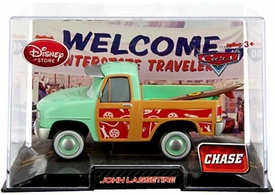 Disney / Pixar CARS Movie Exclusive 1:43 Die Cast Car In Plastic Case John Lassetire Chase Edition!
