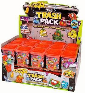 Trash Packs Series 4 Mini Figure Box [20 Packs] Pre-Order ships April
