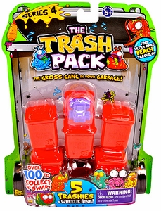 Trash Packs Series 4 Mini Figure 5-Pack [Random Figures]