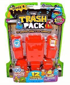Trash Packs Series 4 Mini Figure 12-Pack  [Random Figures]