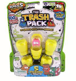 Trash Packs Series 5 Mini Figure 5-Pack [Random Figures]