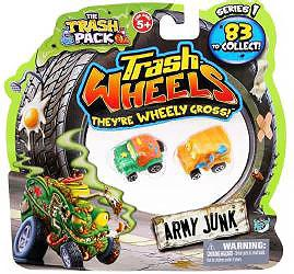 Trash Pack Wheels Mini Figure 2-Pack [2 Random Figures]