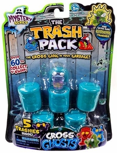 Trash Packs Mystery Series Gross Ghosts Mini Figure 5-Pack  [Random Figures]