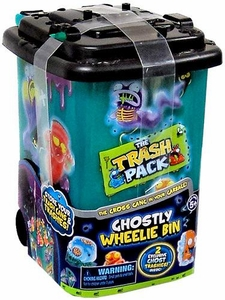 Trash Packs Mystery Series Exclusive Gross Ghosts Ghostly Wheelie Bin