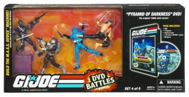 GI Joe Hasbro 25th Anniversary DVD Battle Pack Pyramid of Darkness