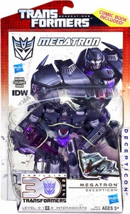 Transformers Generations Deluxe Action Figure Megatron [IDW Version]