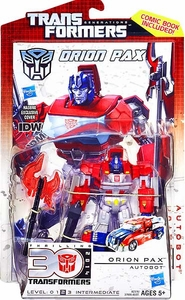Transformers Generations Deluxe Action Figure Orion Pax [IDW Version]