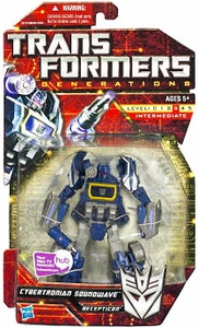 Transformers Generations Deluxe Action Figure Cybertronian Soundwave