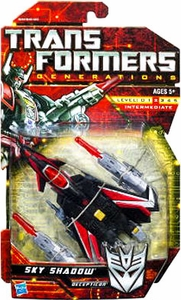 Transformers Generations Deluxe Action Figure Sky Shadow