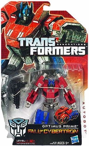 Transformers Generations Deluxe Action Figure Optimus Prime [Fall of Cybertron]