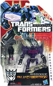 Transformers Generations Deluxe Action Figure Shockwave [Fall of Cybertron]