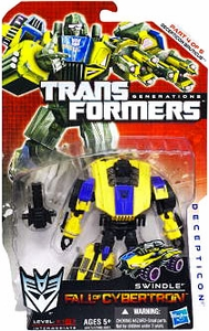 Transformers Generations Deluxe Action Figure Swindle [Fall of Cybertron]