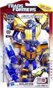 Transformers Generations Deluxe Action Figure Goldfire New!