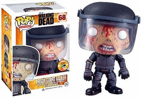 Funko POP! Walking Dead 2013 SDCC San Diego Comic-Con Exclusive Vinyl Figure Bloody Prison Guard Walker