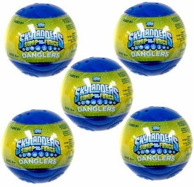 Topps Skylanders SWAP FORCE Danglers Lot of 5 Mystery Packs [5 Random Danglers & 10 Stickers] BLOWOUT SALE!