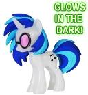 Funko My Little Pony Mystery Mini Figure GLOW-IN-THE-DARK DJ P0N-3 [Vinyl Scratch]