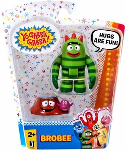 Yo Gabba Gabba 3 Inch Action Figure Accessory Brobee