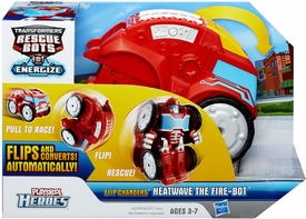 Transformers Rescue Bots Playskool Heroes Flip Changer Action Figure Heatwave