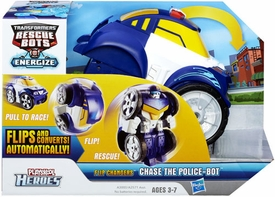 Transformers Rescue Bots Playskool Heroes Flip Changer Action Figure Chase