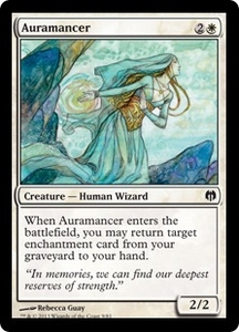 Magic: The Gathering Duel Decks: Heroes vs. Monsters Single Card White Common #9 Auramancer