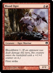 Magic: The Gathering Duel Decks: Heroes vs. Monsters Single Card Red Common #49 Blood Ogre
