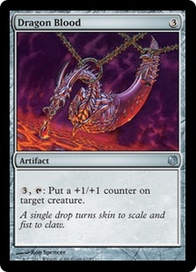 Magic: The Gathering Duel Decks: Heroes vs. Monsters Single Card Artifact Uncommon #67 Dragon Blood